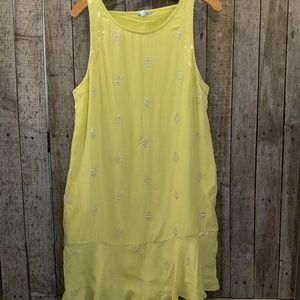 Anthropologie Leifnotes sequined dress size 10